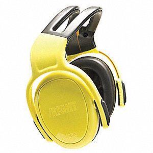 28dB Over-the-Head Ear Muffs, Yellow