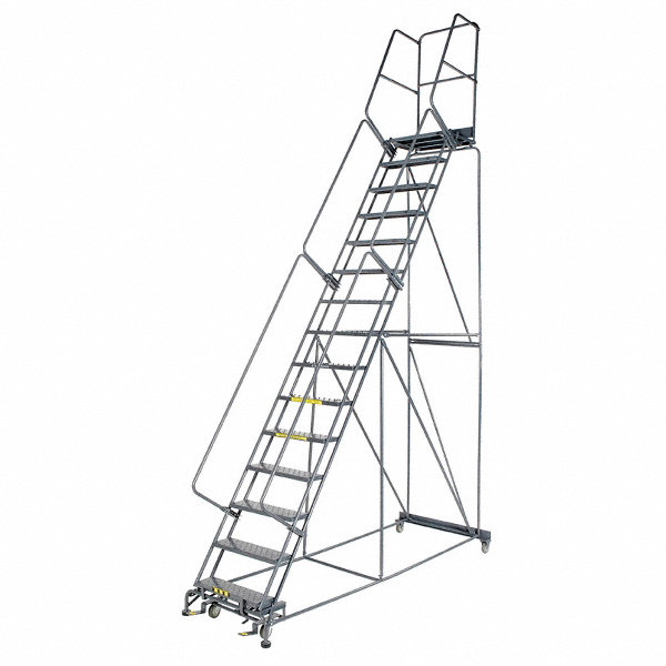 Ballymore 13 Step Rolling Ladder Serrated Step Tread 175