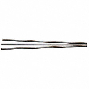 DC Electrode,Plain Pointed,5/16x12,PK 50
