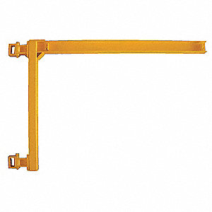 Jib Crane,550 lbs.,10 ft.,4 In. W