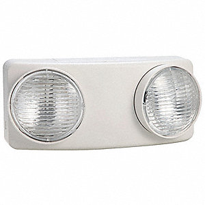 Emergency Light,5.4W,4In H,5-1/2In L