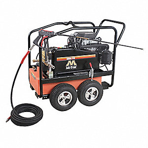 Heavy Pressure Washer, Cold Water Type, 6000 psi, 3.7 gpm