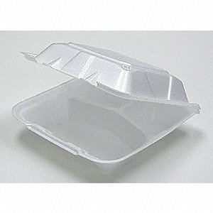Carry-Out Container,9x9,3 Comp,PK150