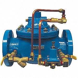 watts pressure reducing valve 4 in flanged 6cjp5 115 4 fl grainger. Black Bedroom Furniture Sets. Home Design Ideas