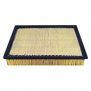 "Air Filter, Panel, 2-1/4"" Height, 13-29/32"" Length"