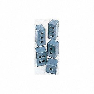 Pushbutton Enclosure, 1, 3, 3R, 4, 4X, 12, 13 NEMA Rating, Number of Columns: 4