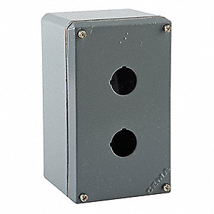 Pushbutton Enclosure, 1, 3, 3R, 4, 4X, 12, 13 NEMA Rating, Number of Columns: 1