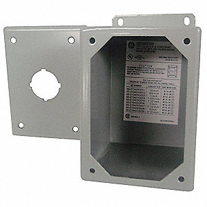 Pushbutton Enclosure, 1, 3, 3R, 12, 13 NEMA Rating, Number of Columns: 1
