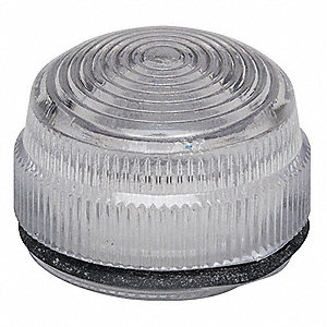 LENS FOR STANDARD PILOT LIGHT, AMBE