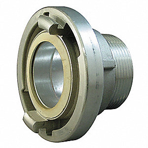 Fire Hose Storz Adapter, Nonswivel Adapters Fittings Sub-Category, NH Male x Storz Connection Type,