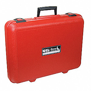Carrying Case,14 In H,3-1/2 In D,Red