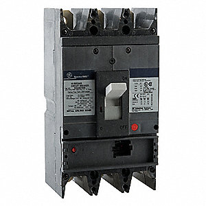 Circuit Breaker,  400 Amps,  Number of Poles:  3,  600VAC AC Voltage Rating