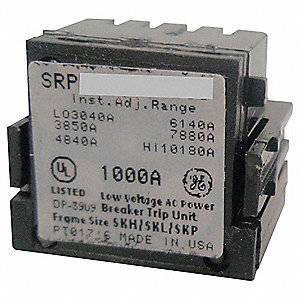 Toggle Switch Rating Plug, Sensor Amps: 800A, Plug Amps: 800A, For GE Panelboads