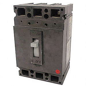 Circuit Breaker,  110 Amps,  Number of Poles:  3,  600VAC AC Voltage Rating