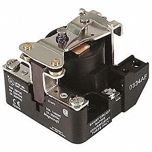 Open Power Relay,4 Pin,240VAC,SPST-NO