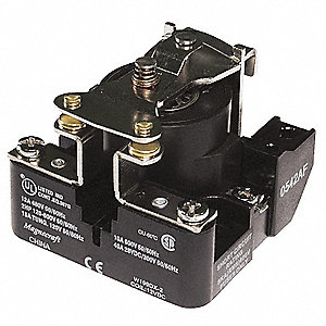 Open Power Relay,4 Pin,12VDC,SPST-NO