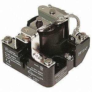 24VDC, 5-Pin Surface Open Power Relay; Electrical Connection: Screw