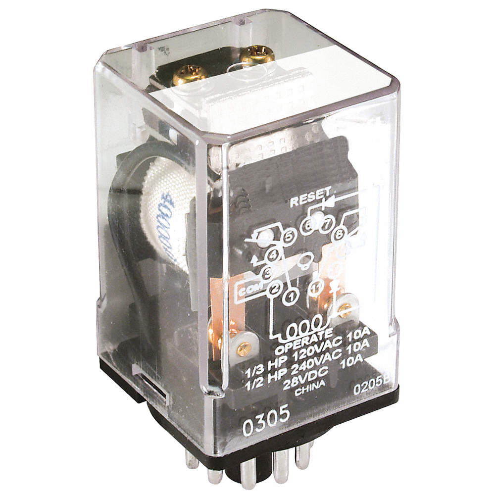 Schneider Electric 12vdc 11 Pin Octal Base Latching Plug In Relay Dpdt Zoom Out Reset Put Photo At Full Then Double Click