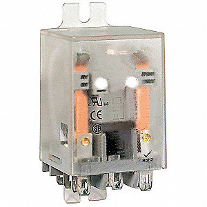 SPDT Side Mount Flange Relay, 5 Pins, 16A @ 277VAC/28VDC Contact Rating