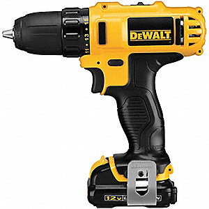 "12V MAX Li-Ion 3/8"" Cordless Drill/Driver Kit, Battery Included"