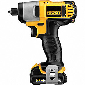 "1/4"" Hex Cordless Impact Driver Kit, 12.0 Voltage, 950 in.-lb. Max. Torque, Battery Included"
