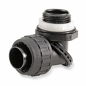 Insulated Connector,3/8 In.,Multi-Angle