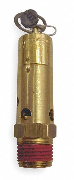 160 psi CONTROL DEVICES SF50-1A160 Air Safety Valve,1//2 In Inlet