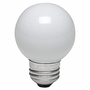 40 Watts Incandescent Lamp, G16-1/2, Medium Screw (E26), 290 Lumens, 2800K Bulb Color Temp.