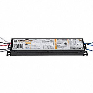 Electronic Ballast, 32 Max. Lamp Watts, 120/277 V, Programmed Start, 0-10V Dimming 100 to 3%