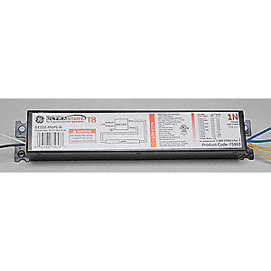 Electronic Ballast, 32 Max. Lamp Watts, 120/277 V, Programmed