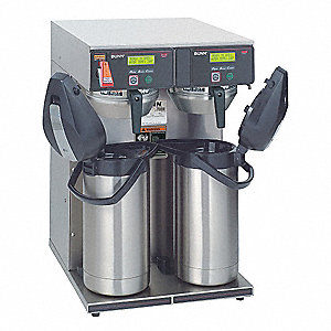 Airpot Coffee Brewer,Dual Head