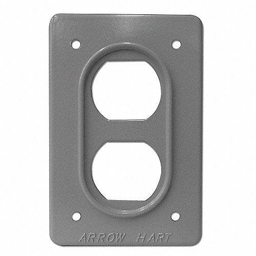 Arrow hart placa aluminio m ltip 1 gris d plex placas de - Placa de aluminio ...