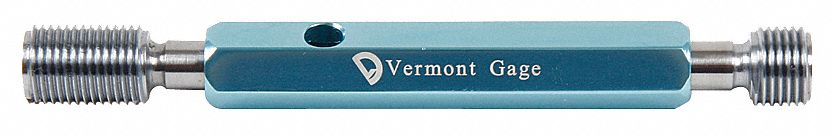Vermont Gage 301137540 7//16-20 UNF 2B Go and No-Go Taperlock Gage Assembly