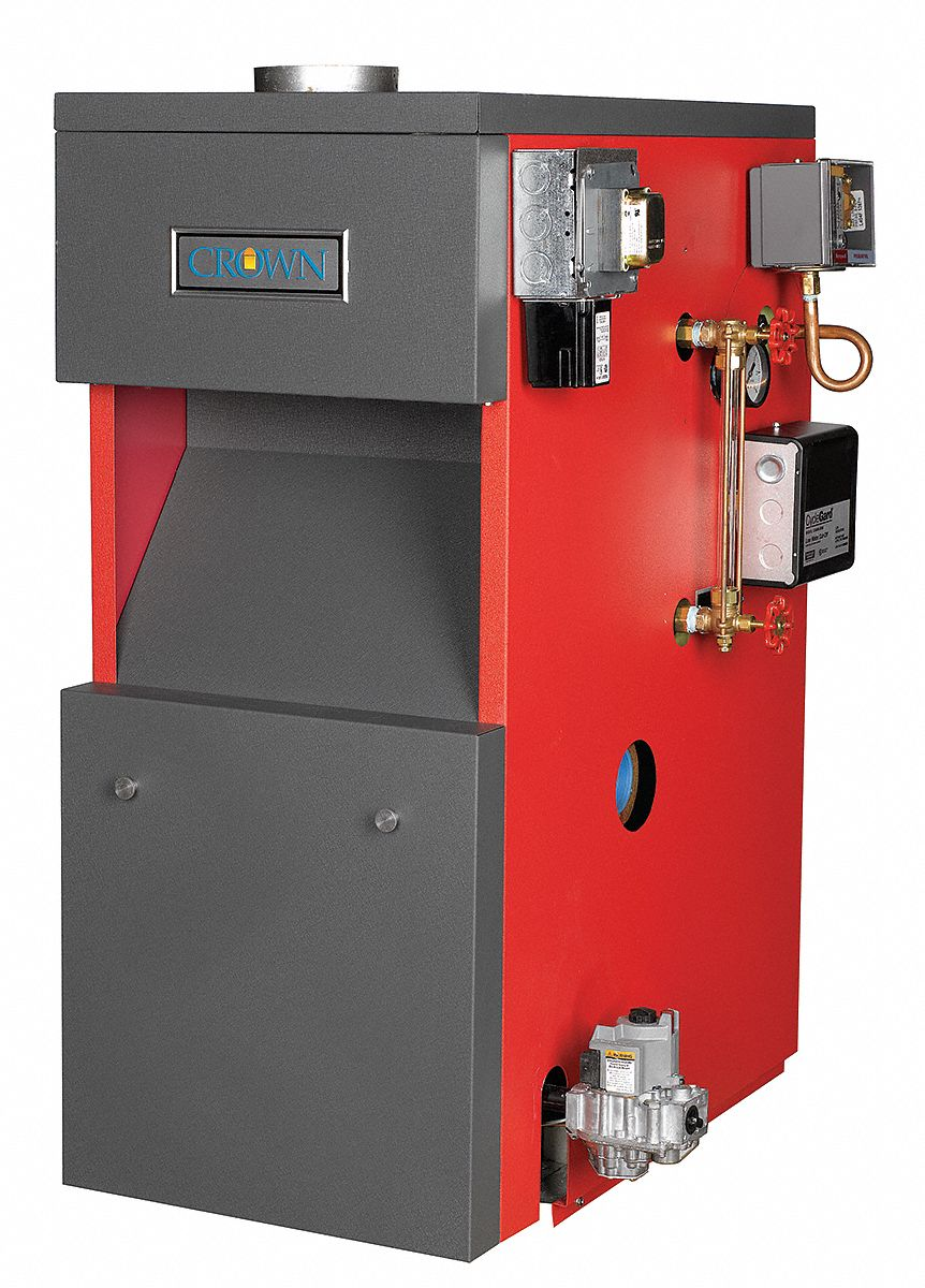 Atmospheric Vent Steam Boiler,  AHRI Certified, ASME H, ETL (US/C),  64,000 BtuH,  Natural Gas