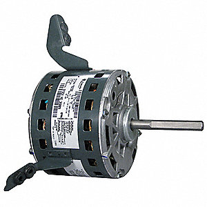 1/3 HP Direct Drive Blower Motor, Permanent Split Capacitor, 1075 Nameplate RPM, 208-230 Voltage