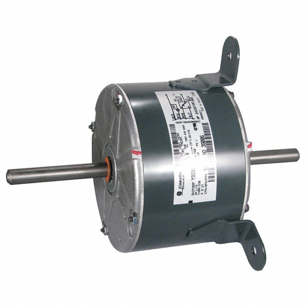 Genteq 1 15 hp oem replacement motor permanent split for Electric motor capacitor replacement