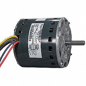 1/3 HP Direct Drive Blower Motor, Permanent Split Capacitor, 900 Nameplate RPM, 200-230 Voltage