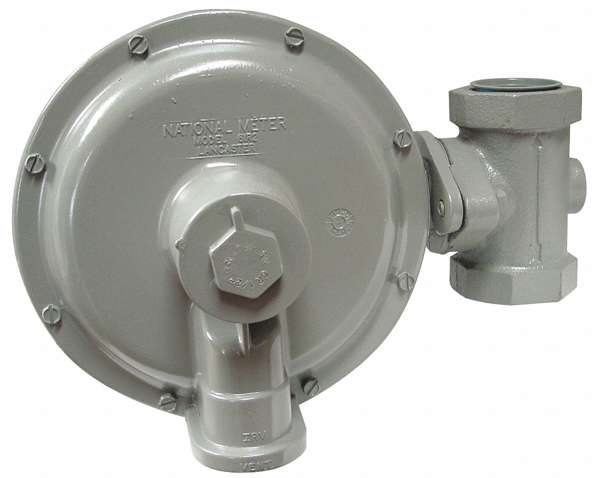 Hoses and Regulators,  Gas Pressure Regulator,  Includes 1/8 in Pressure Tap on Inlet