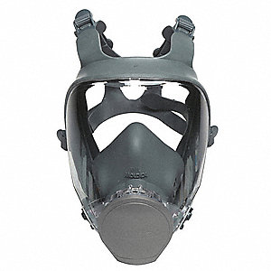 9000 Series Full Face Respirator, Respirator Connection Type: Bayonet, 4 pt. Full Face Suspension Ty