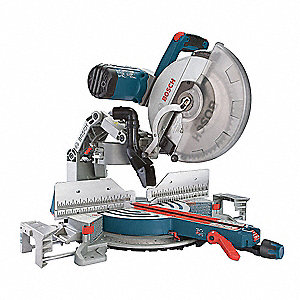 "12"" Sliding Compound Miter Saw, Double Bevel, 3800 No Load RPM, 15.0 Amps"