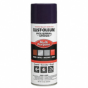 Spray Paint,Gloss Purple,12 oz.