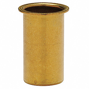 "Brass Insert Insert Fitting, 3/4"" Tube Size"