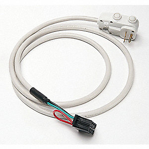 "Optional Cord,208/230VAC Voltage, 5"" Width, For Use With Friedrich 230V 15A PTAC"