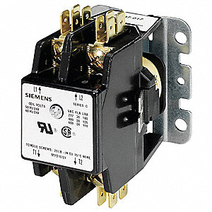 Compact Contactor, 277VAC Coil Volts, 30 Full Load Amps-Inductive, Open Enclosure Type
