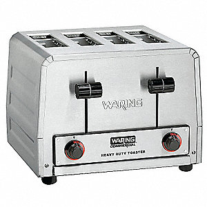 "11.875"" 4-Slice Heavy Duty Commercial Bagel Toaster"