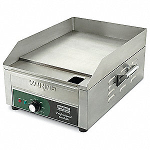 "22 1/4"" x 17"" x 9 3/4 Electric Countertop Griddle"