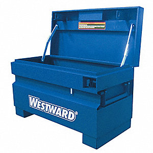 "15-1/2"" x 18"" x 31"" Jobsite Chest, 4 cu. ft., Blue"