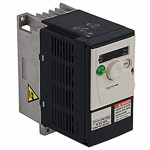 Variable Frequency Drive,1/4 Max. HP,1 Input Phase AC,240VAC Input Voltage