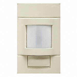 Occupancy Sensor, Sensor Type: Passive Infrared, Installation Type: Wall, 1200 sq. ft. Coverage