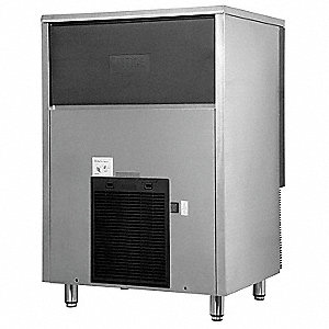 "Self-Contained Ice Maker, Ice Production per Day: 202 lb., 30"" W X 44-1/4"" H  X25-1/2"" D"